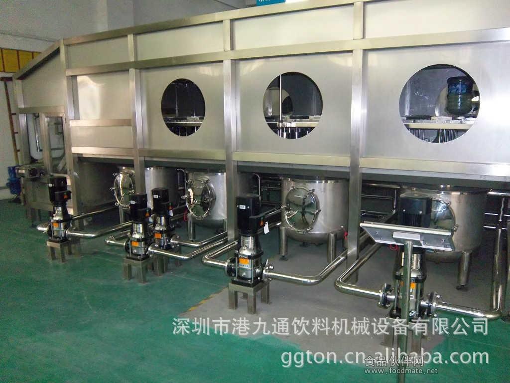 桶装水灌装机,矿泉水/山泉水生产线