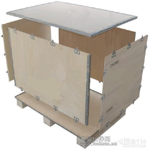木箱结构示意图