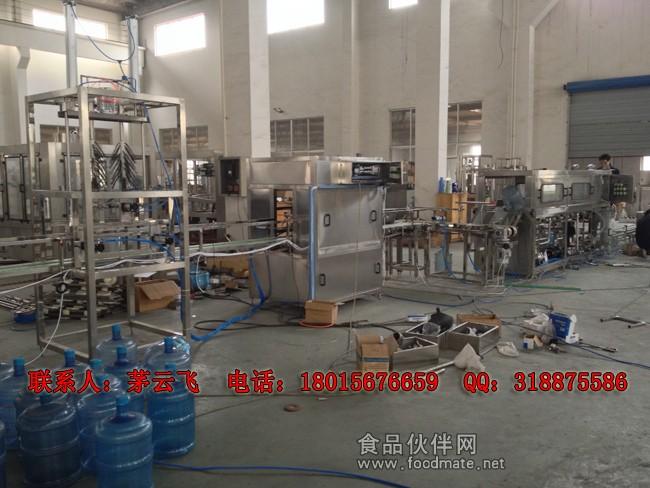 桶装水生产线适用于生产