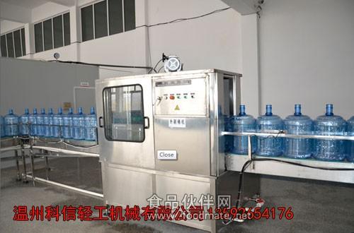 大桶纯净水生产线设备(大桶水灌装机)-河南纯净水