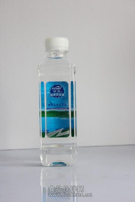 天然矿泉水是来自内蒙古大