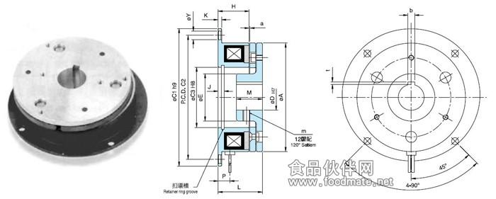 称之电磁离合器或者电磁制动器