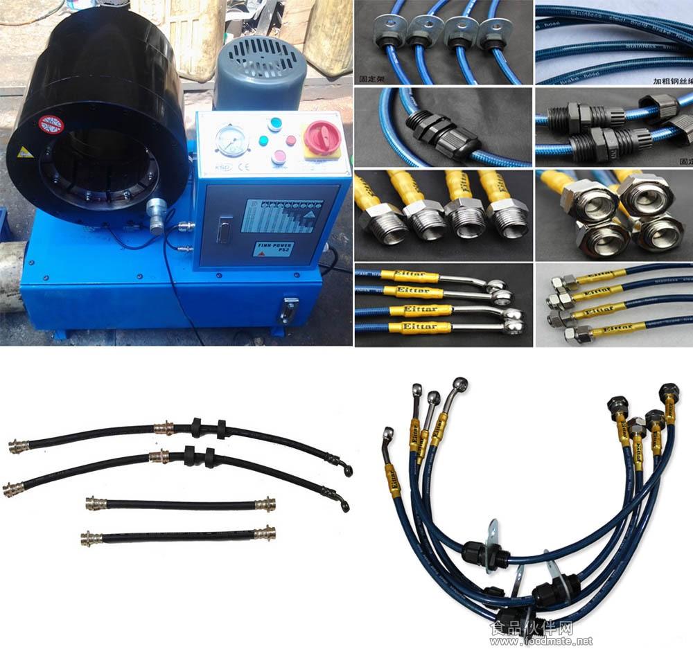 高低压汽车空调管路压管机高清图片