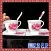 礼品咖啡具 青花瓷咖啡具生产